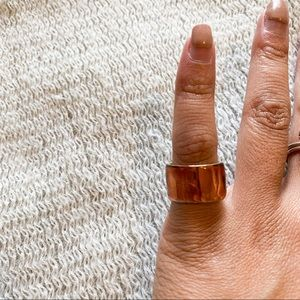 4/$25 - Copper Looking Ring